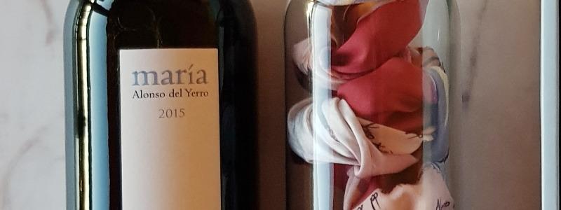 Maria 2015 Ribera del Duero y pañuelo de Encinar